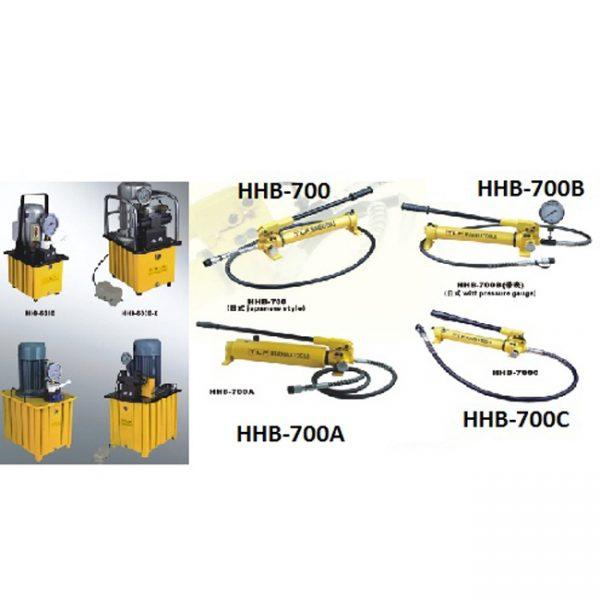 Tay bơm thủy lực TLP HHB-700A